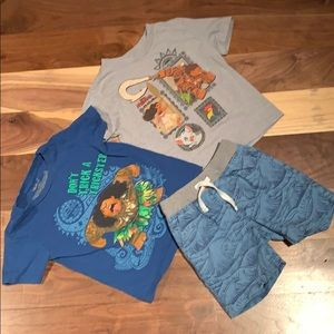 Boys Disney Moana Maui lot